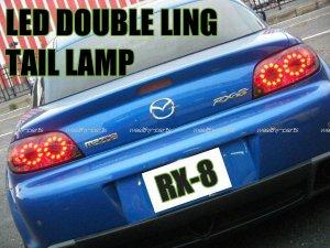画像2: RX-8 LEDダブルリング スモークテールランプ(前期用)
